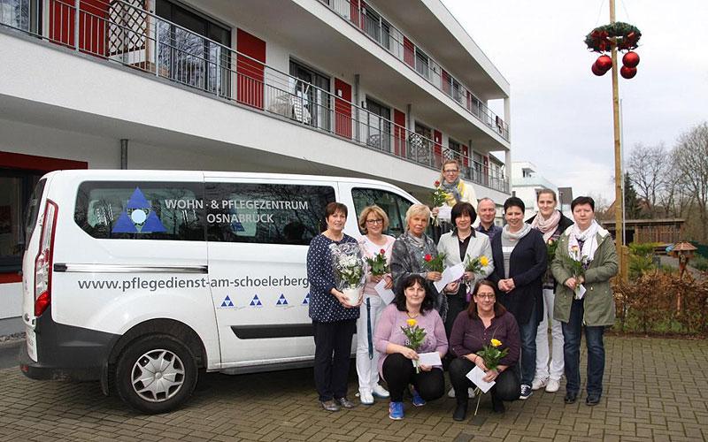 Pflegedienst Hagen Paul Mitarbeiter Jubiläum